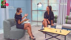 Carolina Patrocinio sensual na Sic