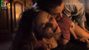 Rita Guedes sensual no filme Mar Inquieto