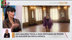 Ana Malhoa sensual a apresentar o novo album