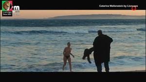 Catarina Wallenstein nua no filme Lobos