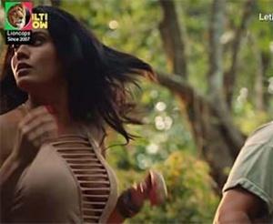 Leticia Lima sensual na serie Além da Ilha