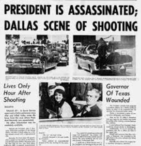 President John F.Kennedy was assassinated.jpg
