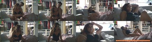 Dina Felix da Costa super sensual em lingerie na novela Amar Demais