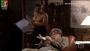 Rosana Oliveira sensual na novela Um anjo caiu do céu