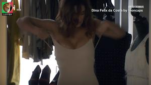 Dina Felix da Costa sensual nas novelas Saber Amar e Amar Demais