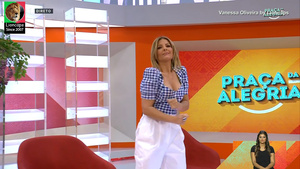 Silvia Alberto sensual na Rtp