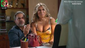 Maria Sampaio sensual no festa é festa